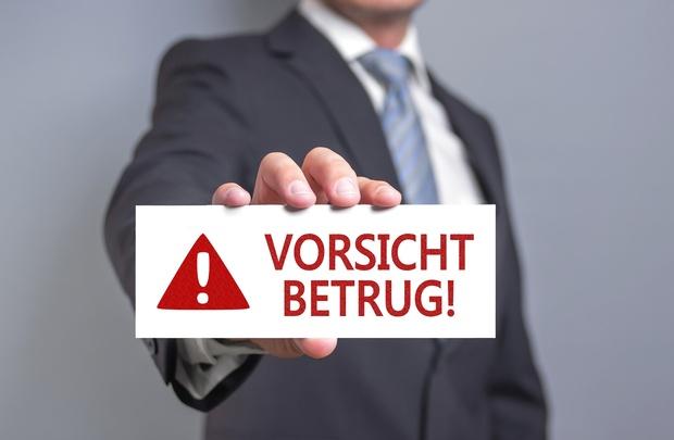Warnungen für Arbeitssuchende