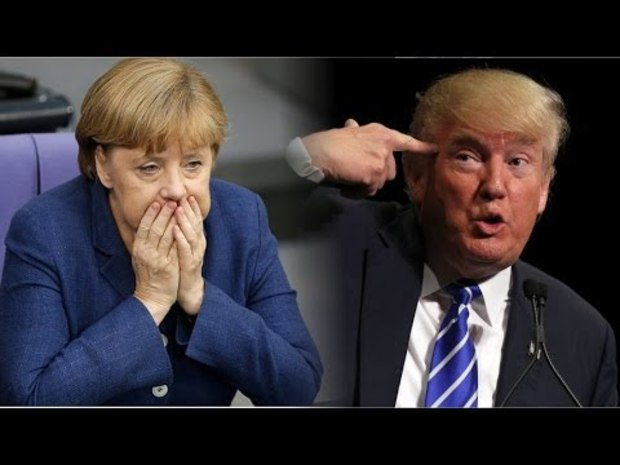 angela-merkel donald-trump