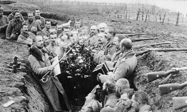 zweiter-weltkrieg erster-weltkrieg frieden weihnachten