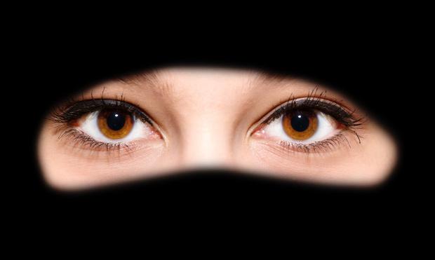 islam burka muslime