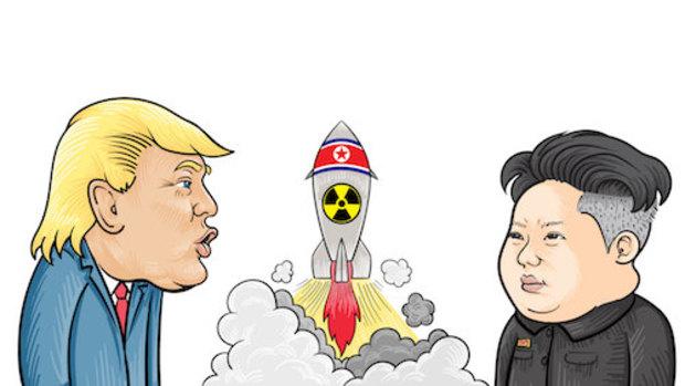 kim-jong-un atombombe nukleare-abruestung donald-trump