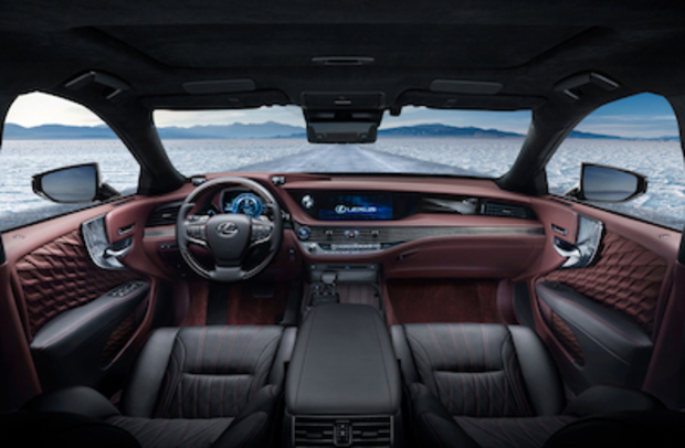 Innenraum Lexus LS 500h