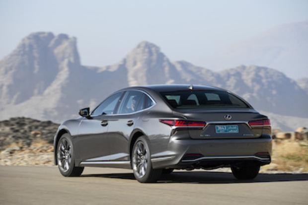 Außenansicht Lexus LS 500h