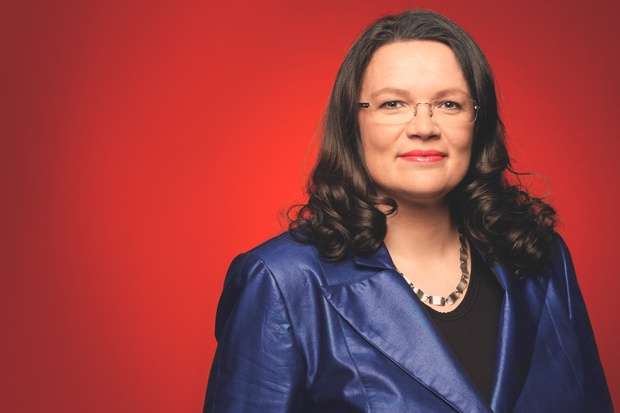spd deutscher-bundestag grosse-koalition andrea-nahles