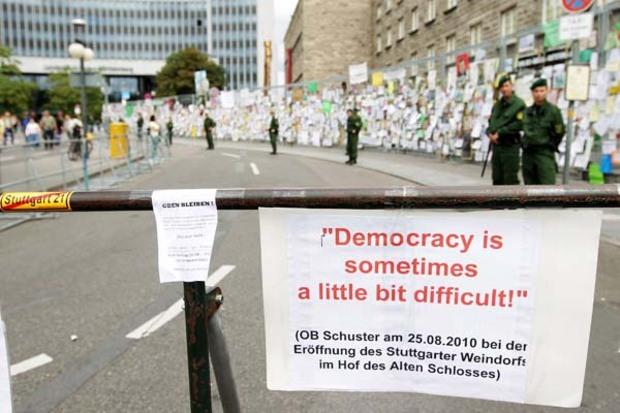demokratie stuttgart-21 deutsche-bahn direktdemokratie volksbegehren landtagswahl-baden-wuerttemberg-2011