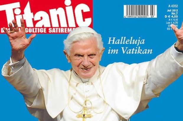 csu pressefreiheit papst-benedikt-xvi titanic-magazin thomas-goppel