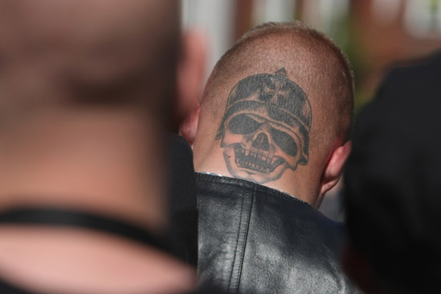 npd neonazis oskar-lafontaine sahra-wagenknecht AfD