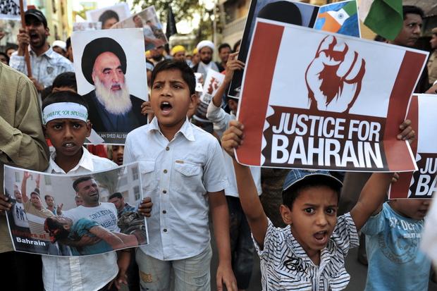 bahrain arabischer-fruehling revolution