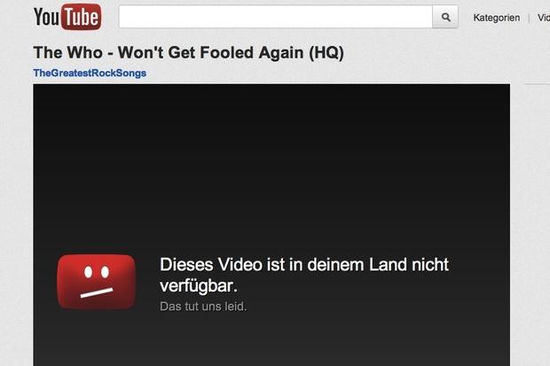 musik internet leistungsschutzrecht youtube gema urteil