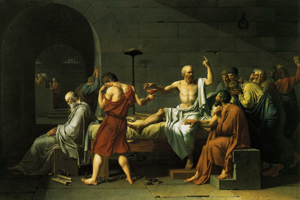 philosophy death socrates