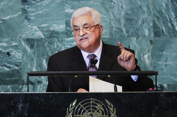 israel palaestina vereinte-nationen nahost-konflikt mahmud-abbas