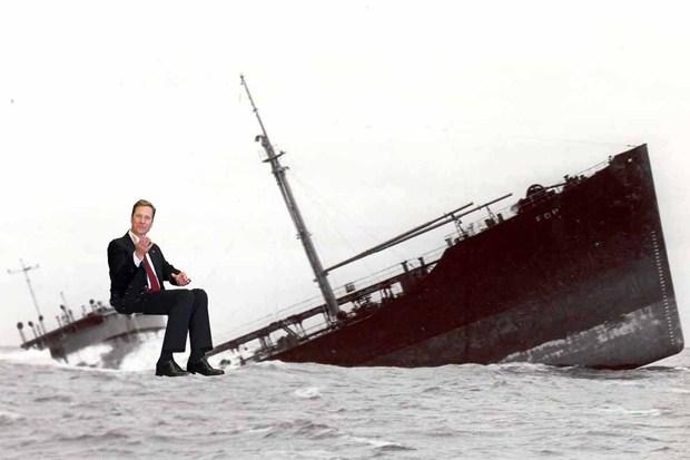 fdp guido-westerwelle krise edmund-stoiber klientelpolitik