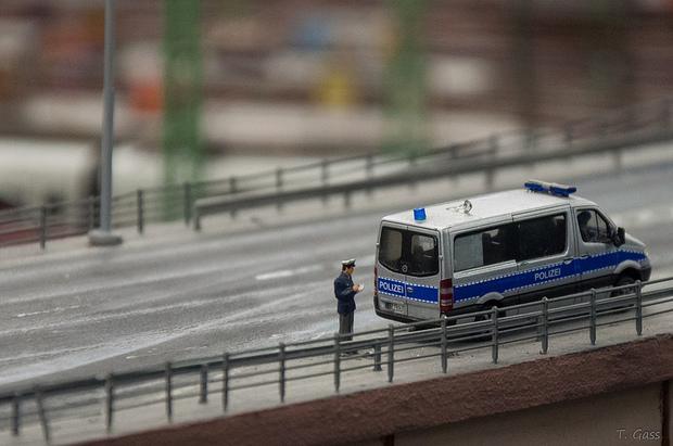 die-gruenen polizei
