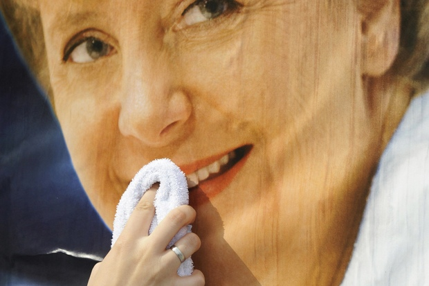 angela-merkel wahlkampf europaeisches-parlament neusprech