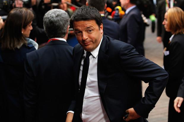 angela-merkel europaeische-union sparpolitik matteo-renzi italien