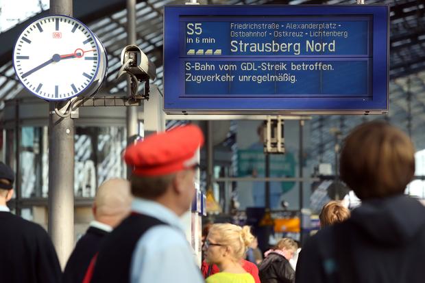 streik gewerkschaft deutsche-bahn