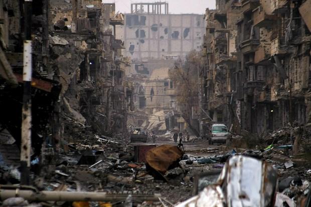 naher-osten islam syrien islamischer-staat